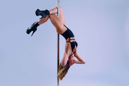 Carleen Barry Pole Dance Teacher Plymouth