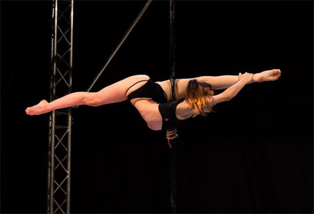 Esme Telford Pole Dancing Plymouth