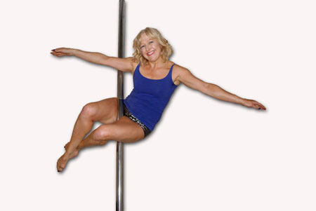 Linda Jerrett Pole Dance Plymouth