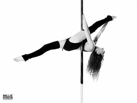 Sam Remmer Pole Dance Plymouth